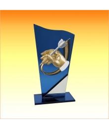 Trophée avec sujet P Fléchette 3753P551