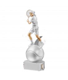 Trophées Résine Tennis Femme 5305