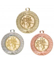 Médaille 40mm avec Pastille - 8234