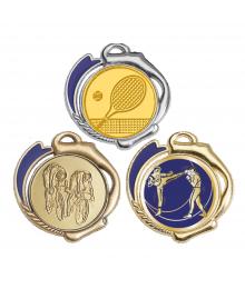 Médaille 70mm avec Pastille - 8546