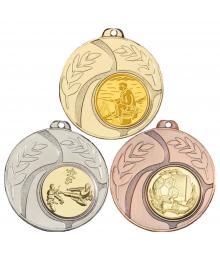 Médaille 50mm avec Pastille - 8344