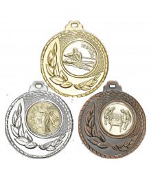 Médaille 50mm avec Pastille - 8346