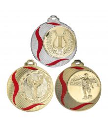 Médaille 70mm avec Pastille - 8545