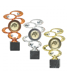 Trophées Divers 4112 - 4113 - 4114 Cross