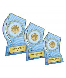 Trophées Divers Pastille Non Collée 4386 - 4387 - 4388 Cross