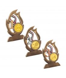 Trophées Divers 4396 - 4397 - 4398 Cross