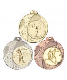 Médaille 40mm avec Pastille Football - F-036