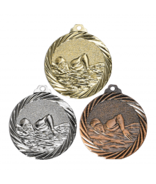 Médaille Frappée 32mm Natation - F-NX13
