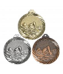 Médaille Frappée 32mm Natation - NX13