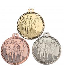 Médaille Frappée 50mm Course à Pied - F-NZ17