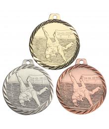 Médaille Frappée 50mm Judo - F-NZ12