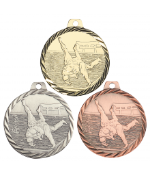 Médaille Frappée 50mm Judo - NZ12
