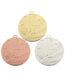 Médaille Frappée 50mm Football - B-7790