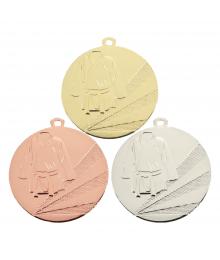 Médaille Frappée 50mm sports de combats - B-7791
