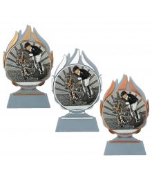 Trophée Equitation Saut d'obstacle B-Q120.01 - B-Q120.02 - B-Q120.03