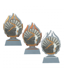 Trophée Gymnastique Femme 3722 - 3723 - 3724