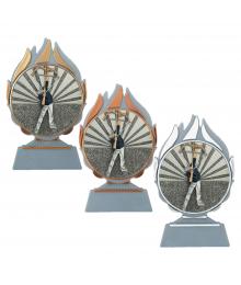 Trophée Tir à L'Arc 3722 - 3723 - 3724