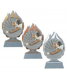 Trophée Billard 3722 - 3723 - 3724