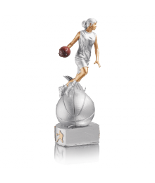 Trophée Résine Basket Femme 4961