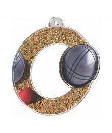 Médaille Acrylique 50mm Petanque - MDA0010M27