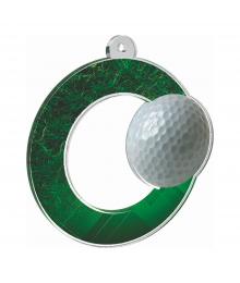 Médaille Acrylique 70mm Golf - MDA0010M39