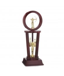 Trophée à Etage Sport Tir à l'arc Femme 3001S.D69
