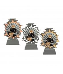 Trophée Pompier B-Q125.01 - B-Q125.02 - B-Q125.03.BL.D46