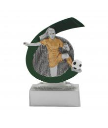 Trophées Résine Football Féminin FG268