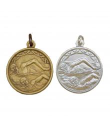 Médaille Frappée 32mm Natation M54 - M55 - M56