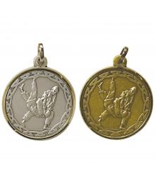 Médaille Frappée 32mm Judo - M02