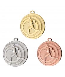 Médaille Frappée 32mm Course à pied - B-7782