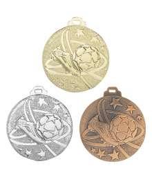Médaille Frappée 50mm Football - 7938