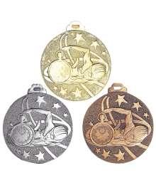 Médaille Frappée 50mm Natation - 7931
