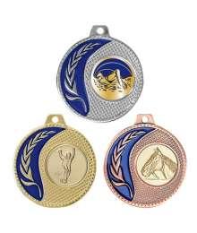 Médaille 50mm avec Pastille - 8456
