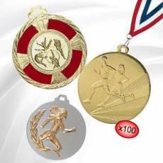 Médailles Athlétisme