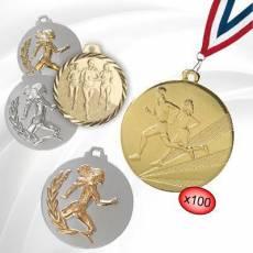 Médailles Cross - Course sur route - Marche
