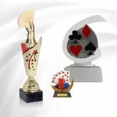 Trophées Poker & Jeux de cartes