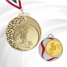 Médailles Motocross