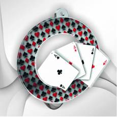 Médailles Poker et Jeux de Cartes