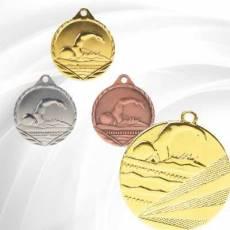 Médailles Frappées Natation