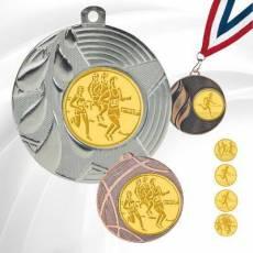 Médailles avec pastille Cross