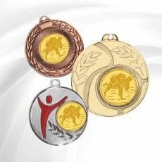 Médailles avec pastille Judo