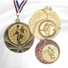 Médailles avec pastille Football