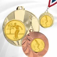 Médailles avec pastille Pétanque