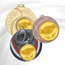 Médailles avec pastille Amitié
