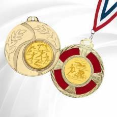Médailles avec pastille Athlétisme