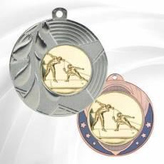 Médailles avec pastille Escrime