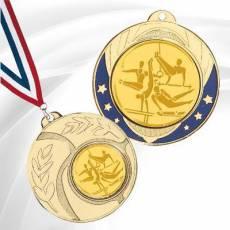 Médailles avec pastille Gymnastique