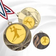 Médailles avec pastille Handball