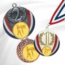 Médailles avec pastille Karaté